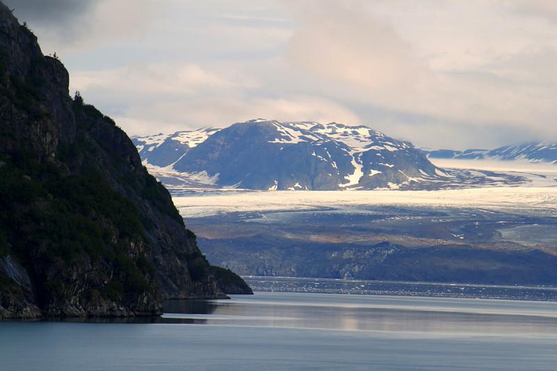 Close view of Grand Pacific Glacier