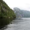 Leaving Misty fjords