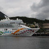 Norwegian Pearl docked in Ketchikan