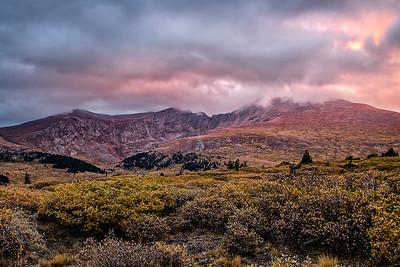 Bierstadt Autumn Sunset