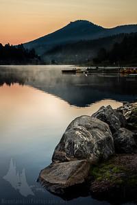 Evergreen Lake Sunrise