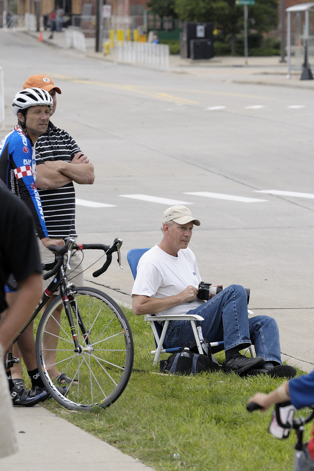 Grand Rapids Priority Health Bike Classic Race - Steve positioning himself for the critical shot