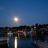 Full Moon over Charlevoix Harbor...Michigan