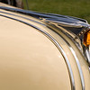 August 15, 2009<br /> Chief Pontiac...Yesterday John and I went to the Woodward Dream Cruise.  This little beauty caught my eye but it's Amber Hood Ornament, in my opinion,  was the best part.   It was attached to a 1950 Pontiac 2 dr Chieftain.  The amber lights up when the headlights are on.  It was available as an option on all models.