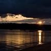 Sept 23, 2011<br /> <br /> Traverse City, Michigan...cloudy morning sunrise.