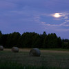 July 20, 2011<br /> Harvest...and the Moon.