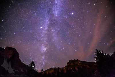 Milky Way over Lost Creek