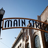 "The entrance to ""Main Street"", the San Mateo Theatre complex.  Finished in the early 2000's, the area was completely revitalized and is now home to a 12 theatre center, numerous restaurants and shops."