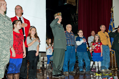 Bellefonte Elementary School -  Veterans Assembly - Friday November 9, 2012