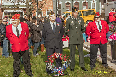 Veterans Day Centre County Court House – Bellefonte, PA - 2018   - Chuck Carroll
