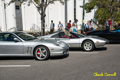 Sarasota Exotic Car Fest -  Downtown - Saturday  February 21 2015