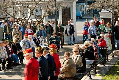VETERANS DAY – Bellefonte Court House – November 11, 2012