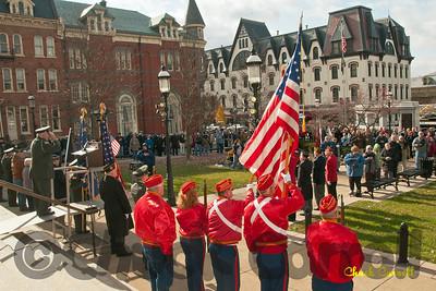 Veterans Day Centre County Court House – Bellefonte, PA  - November 11, 2011