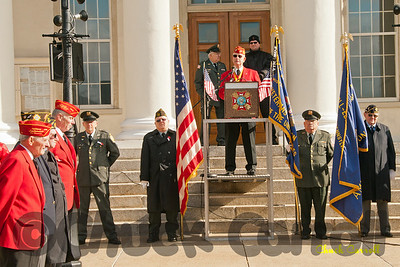 Veterans Day Centre County Court House – Bellefonte, PA  - November 11, 2011