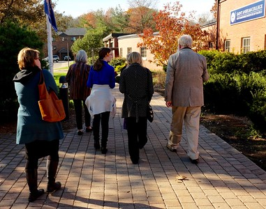 After lunch and a morning of inspiration, the Eastman crew heads out.