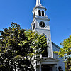 Exterior view of the Community Church of Pepperell, they are celebrating the 100th Anniversary of the church. SUN/David H. Brow