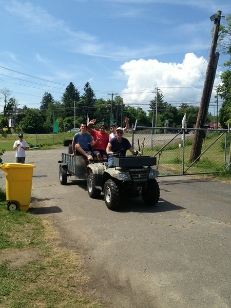 Community Clean-Up with Camp Hi-Rock