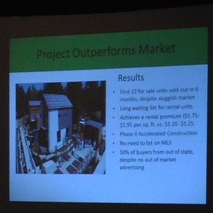 2014-02-26 - Bainbridge Island Grow Community results presented at ULI session