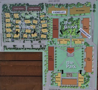 2016-08-01  Grow Neighborhood (Phase 1) on Bainbridge Island  Phase 1 - the Village) and Phase II (the Grove and the Park)