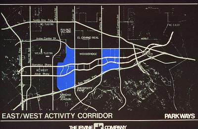 198X-XX-XX - TIC - East-West Actiity Corridor - Parkways