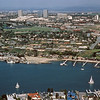 1980-XX-XX - TIC - Aerial View from Newport Bay Looking Toward Newport Center