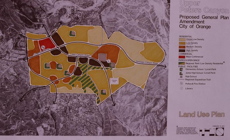 1979-XX-XX - TIC - Upper Peters Canyon General Plan Amendment Proposal