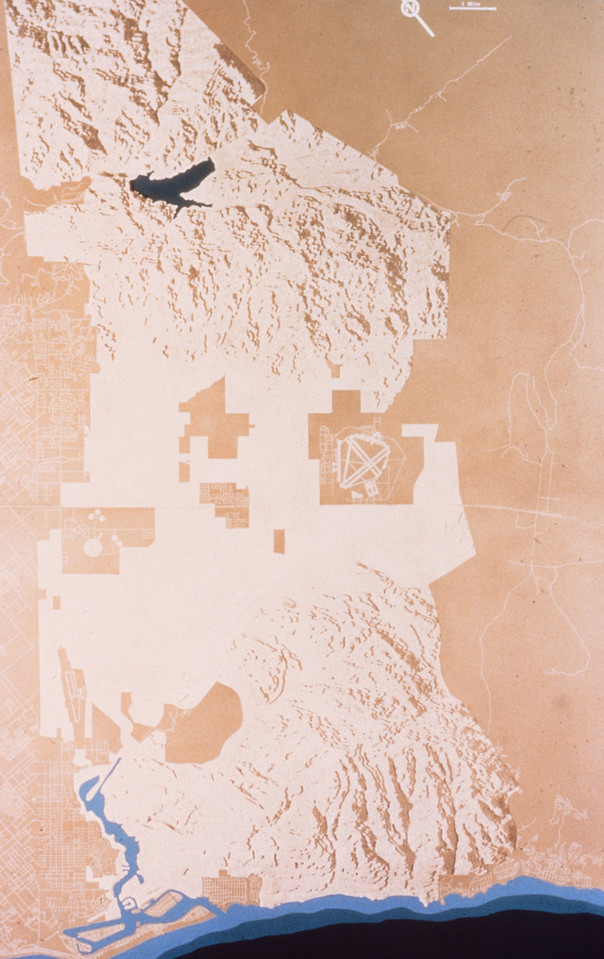1978-XX-XX - TIC - Shaded Relief Map of The Irvine Ranch Property