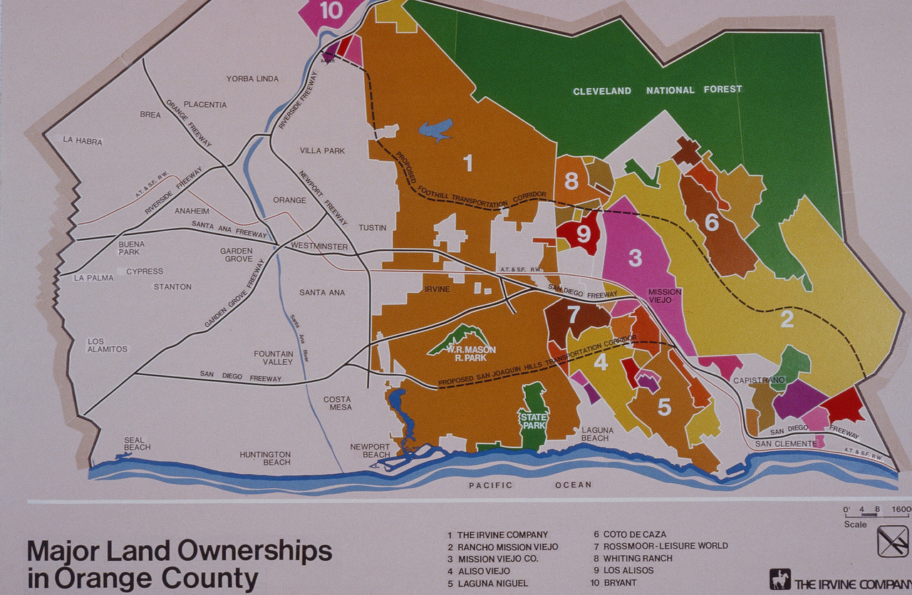 198X-XX-XX - TIC - Major land ownerships in Organe County