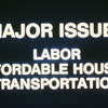 198X-XX-XX - TIC - Major Issues - Labor, Affordable Housing, Transportation
