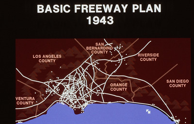198X-XX-XX - TIC - Basic Southern California Freeway Plan of 1943