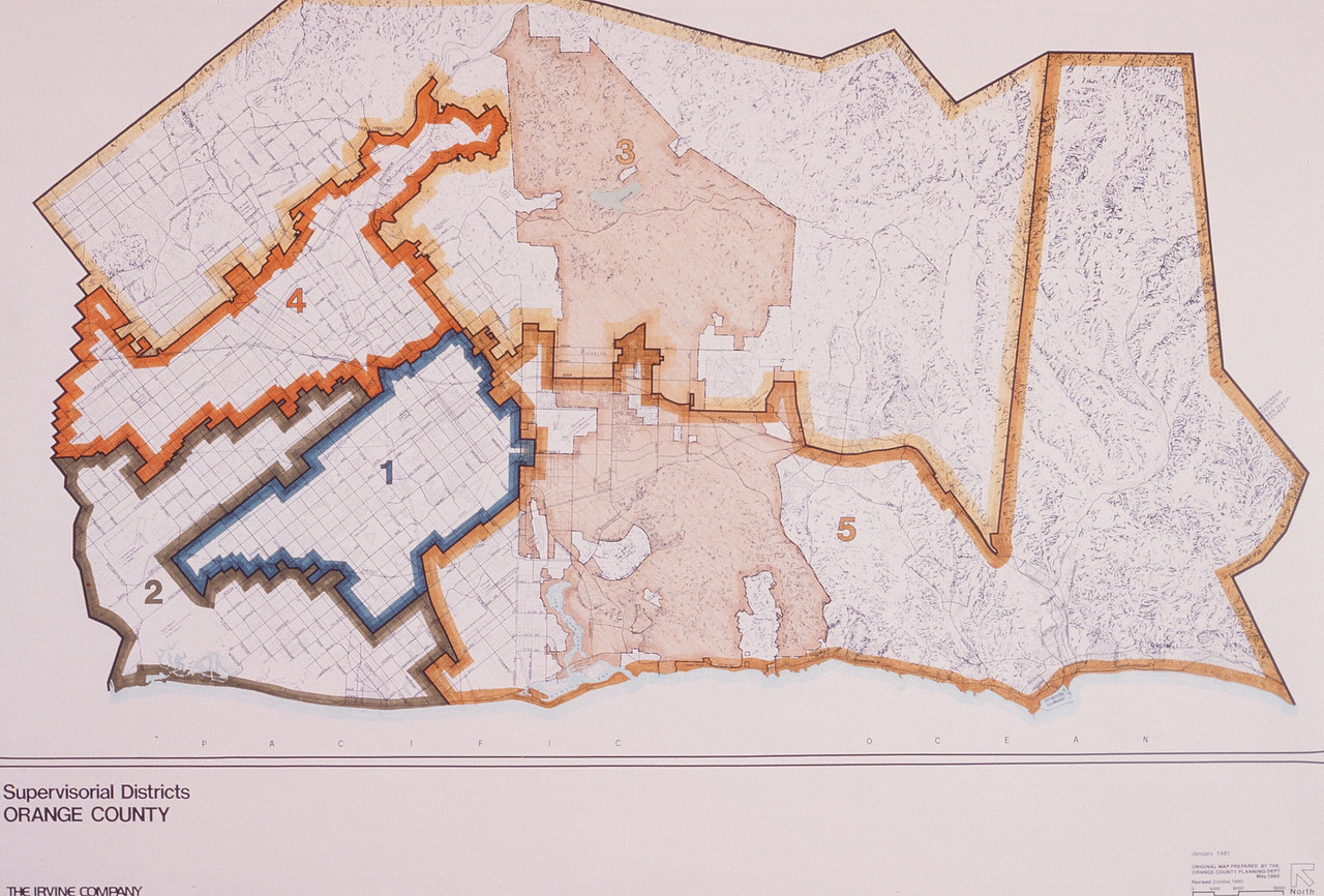 1981-01-15 - TIC - Orange County Supervisorial Districts