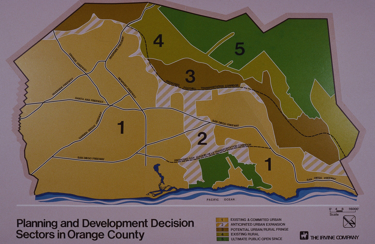 1980-XX-XX - TIC - Planning and Development Decision Sectors in Orange County