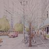 197X-XX-XX - TIC - Renderning of Irvine Center street scene