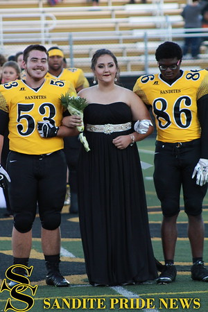 10/7/16 Homecoming Court