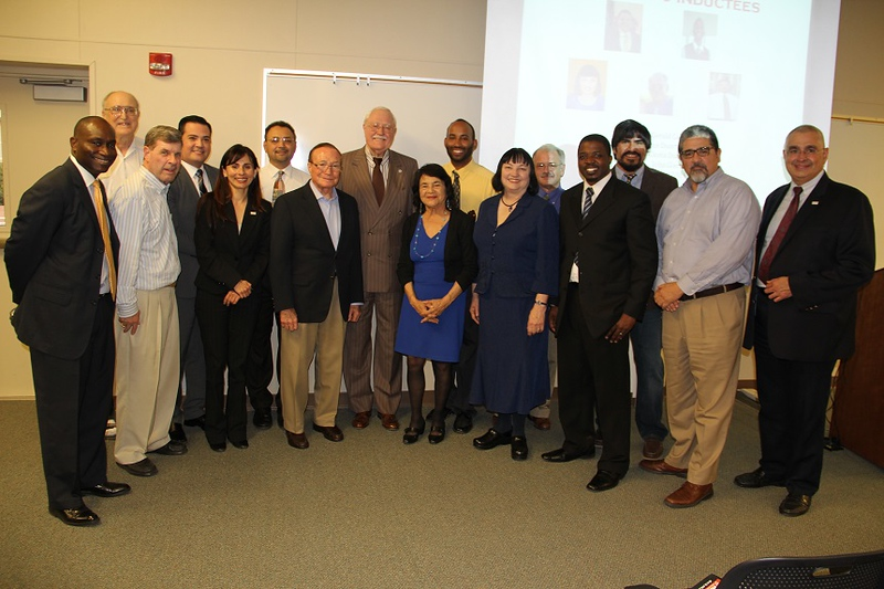 Group photo with the attendees of the LEA kick-off event.