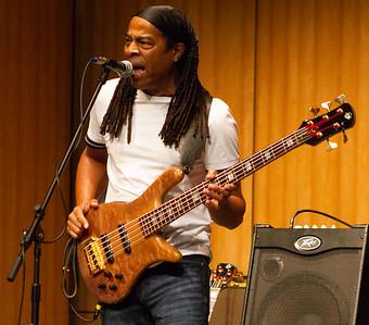 Bassist Doug Wimbish performs in the Indoor Theater.