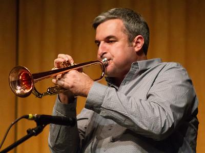 Kris Tiner performs with Doug Wimbish.