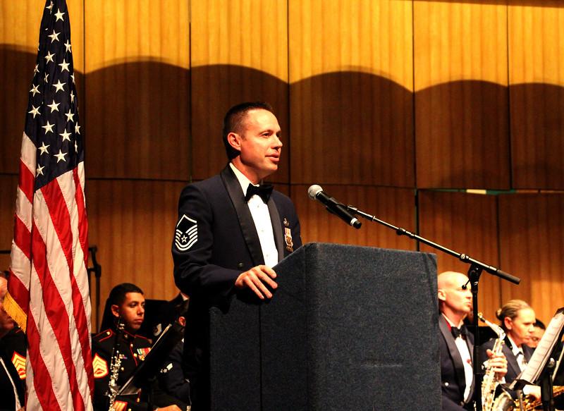 Master Sergeant Jeremy Laukhuf Master of Ceremonies