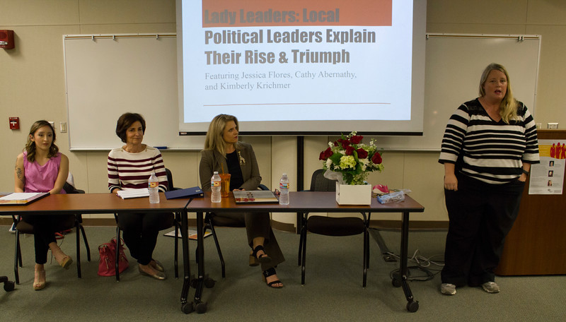 left to right: Jessica Flores, Cathy Abernathy, Kimberly Kirchmer and Erin Miller.