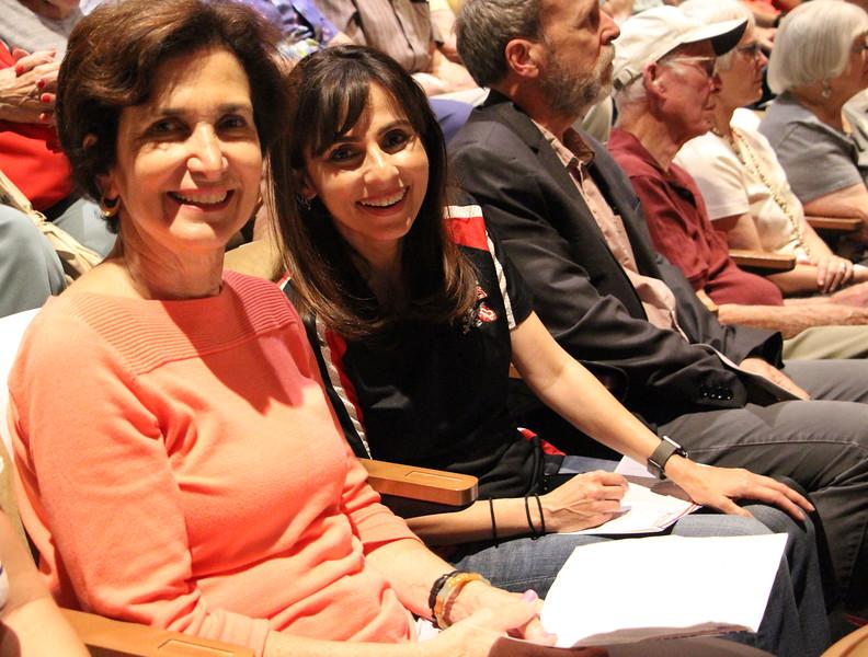 Sonya and Kathy Abernathy