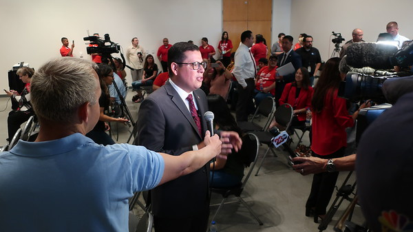 Rudy Salas and Rural Education Press Conference