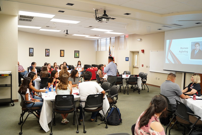 McFarland Early College - Lunch with President Sonya Christian