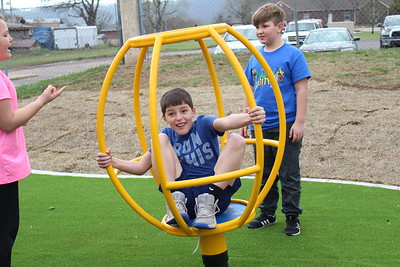 Grand opening of the new Salvation Army playground