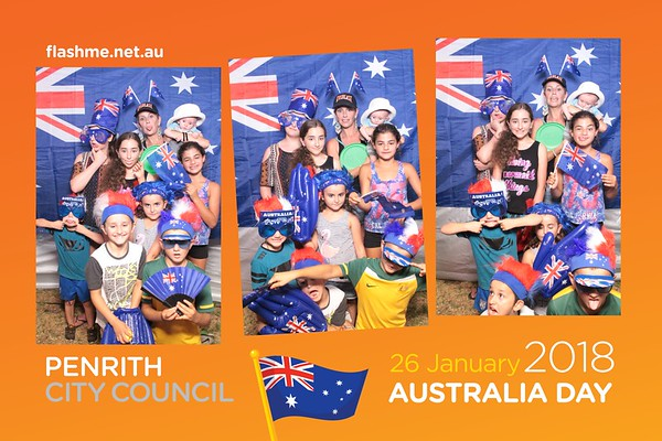 Australia Day Celebrations - 26 January 2018