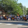 DC Marching Chargers in Cokato Corn Carnival parade 2014