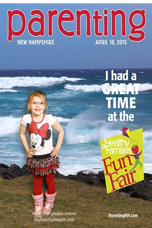 Healthy Families Fun Fair by Parenting NH 4/18/15 (Greenscreen) @ SNHU Field House - Hooksett, NH