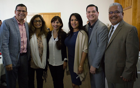 Rudy Salas, Olivia Garcia, Sonya Christian, Lisa Kent, Jay Tamsi, and Corny Rodriguez