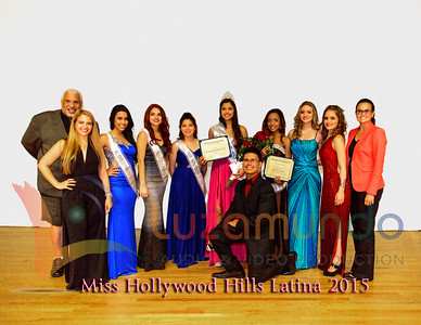 Miss Hollywood Hills Latina 2015