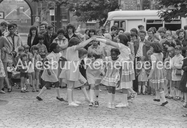 National Folk Day in Market Square, June 1979