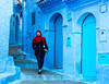 """The Blue City, Morocco""       by Kent Wilson"